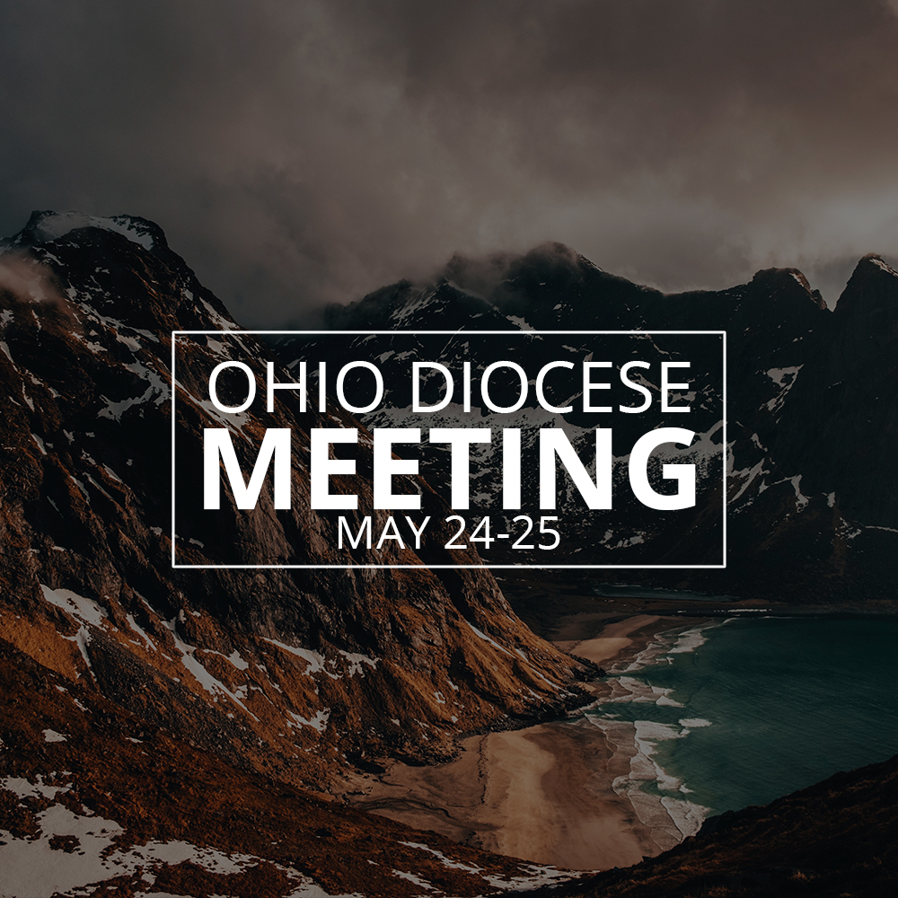 Ohio Diocese Meeting Announced!